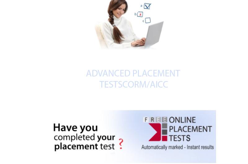 ADVANCED PLACEMENT TESTSCORM/AICC